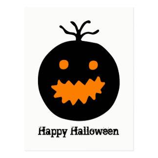Cute Halloween Pumpkin Postcard