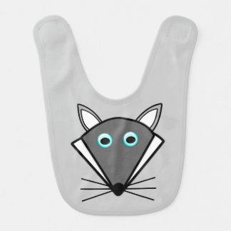 Cute Halloween Wolf Bib
