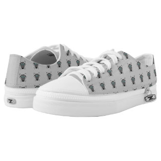 Cute Halloween Wolf Shoes Printed Shoes