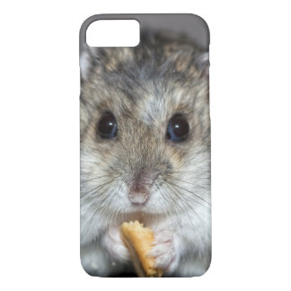 Cute Hamster Eating A Cookie iPhone 8/7 Case