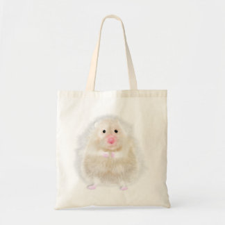 Cute hamster with illustration gift by Gemma Orte Tote Bag
