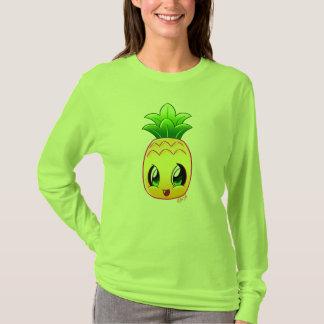 Cute Hand Drawn Pineapple Long Sleeve Shirt