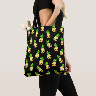 Cute Hand Drawn Pineapple Pattern Tote Bag