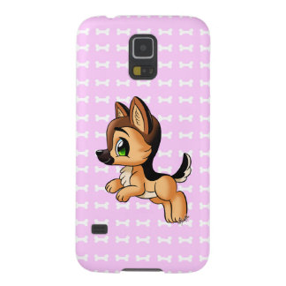 Cute Hand Drawn Puppy Samsung Galaxy S5 Slim Case