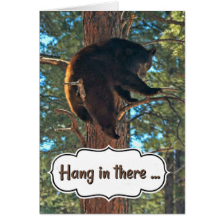 Cute Hang in There Encouragement Card