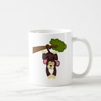 Cute Hanging Monkey Coffee Mug