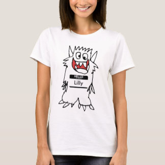 Cute Happy Cartoon Monster Tshirt
