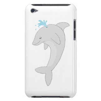 Cute Happy Dolphin Barely There iPod Cover