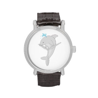 Cute Happy Dolphin Watches