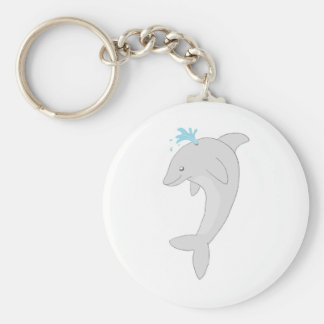 Cute Happy Dolphin Keychains