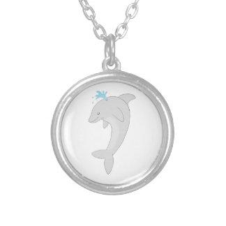 Cute Happy Dolphin Custom Jewelry