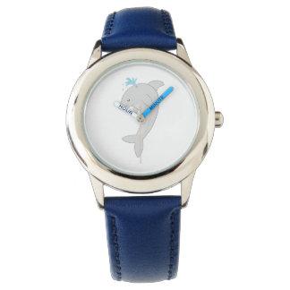 Cute Happy Dolphin Wristwatch