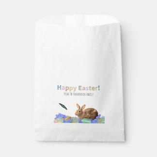 Cute Happy Easter Celebration Children Party Favor Favour Bags