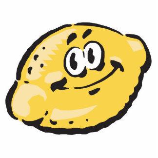 cute happy lemon acrylic cut out