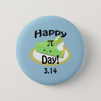 Cute Happy Pi Day 6 Cm Round Badge