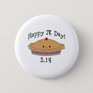 Cute Happy Pi Day! 6 Cm Round Badge