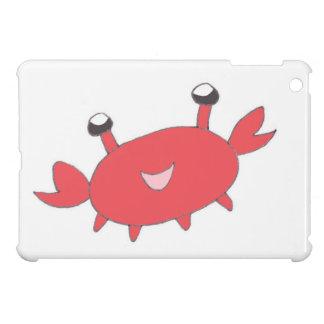 Cute Happy Red Crab iPad Mini Cover