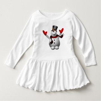 Cute Happy Snowman T-shirts
