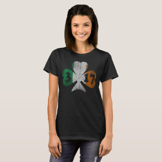 Cute Happy St Patrick's Day Shamrock T-Shirt