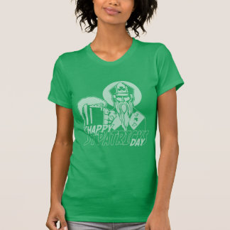 Cute Happy St Patrick's Day Vintage Fade Shirts