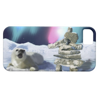 Cute Harp Seal Fantasy Art Wildlife Supporter iPhone 5 Cover