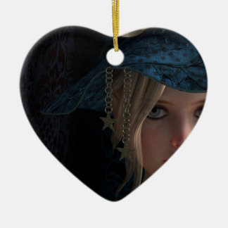 cute hat lover ornaments