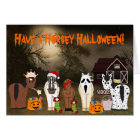 Cute Have a Horsey Halloween Greeting Card