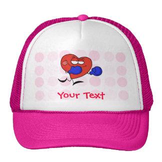 Cute Heart Boxing Trucker Hat