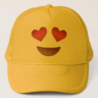Cute Heart for Eyes emoji Trucker Hat