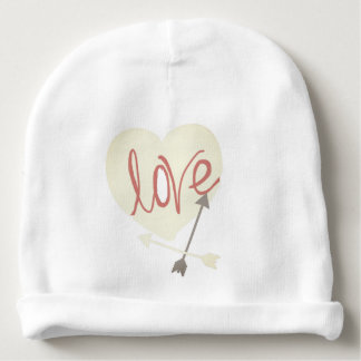 Cute Heart Love Arrow Baby Beanie