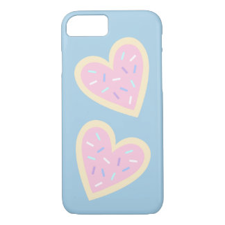 Cute Heart Sugar Cookie Phone Case