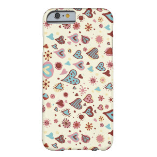 Cute Hearts Pattern Barely There iPhone 6 Case