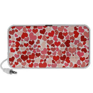 Cute Hearts Portable Speaker