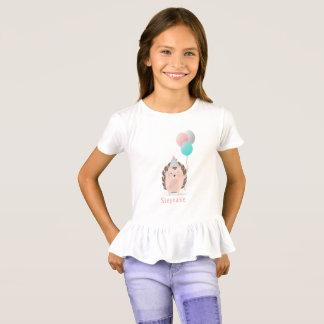 Cute Hedgehog Birthday T-Shirt