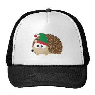 cute Hedgehog Christmas Elf Hat