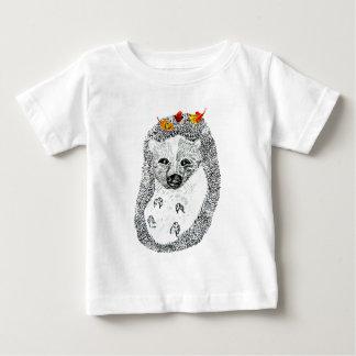Cute Hedgehog Drawing2 Baby T-Shirt