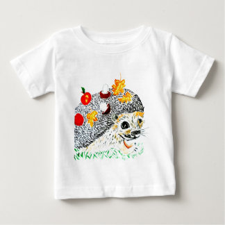 Cute Hedgehog Drawing Baby T-Shirt