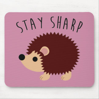 Cute Hedgehog Mousepad