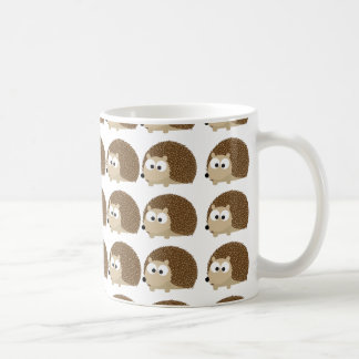 Cute Hedgehog pattern Coffee Mug