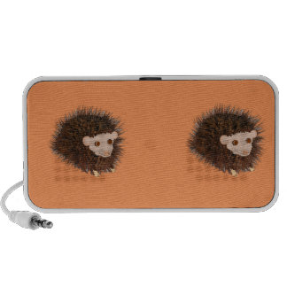 Cute hedgehog products add name, text speaker