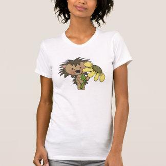 Cute Hedgehog t-shirt womens