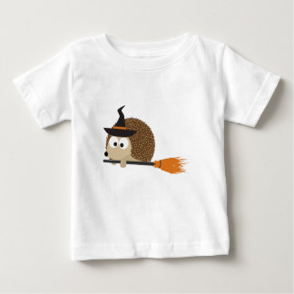 Cute Hedgehog Witch Baby T-Shirt