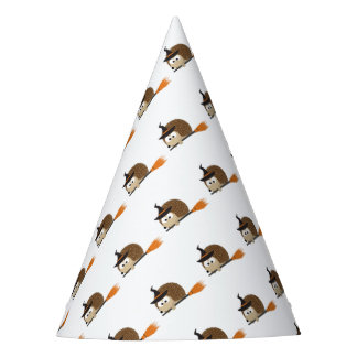 Cute Hedgehog Witch Party Hat