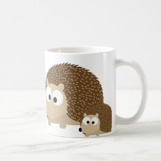 Cute Hedgehogs Basic White Mug