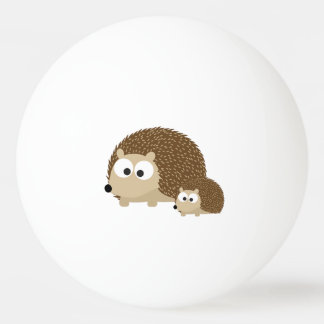 Cute Hedgehogs Ping Pong Ball