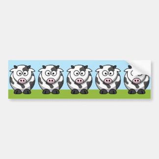 Cute Herd Bumper Sticker