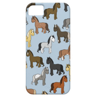 Cute Herd of Horses iPhone 5 Case