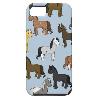 Cute Herd of Horses iPhone 5 Cover