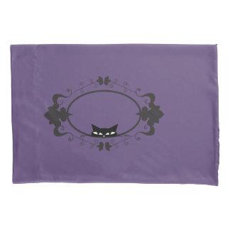 Cute Hiding Cat Pillowcase