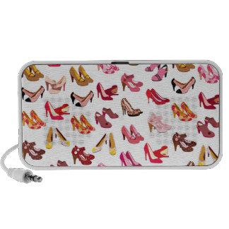 Cute high heels stiletto pattern doodle speaker